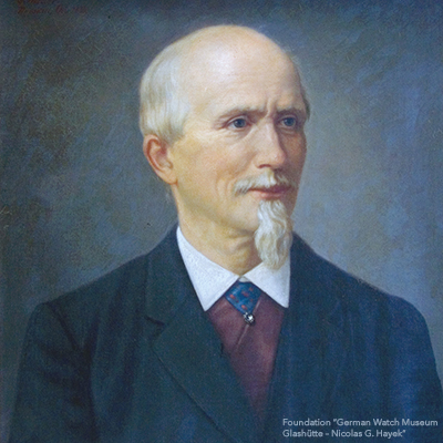 Portrait von 莫里茨·格罗斯曼